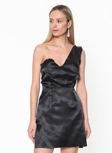 Tantrona Mini Abiye Elbise Siyah